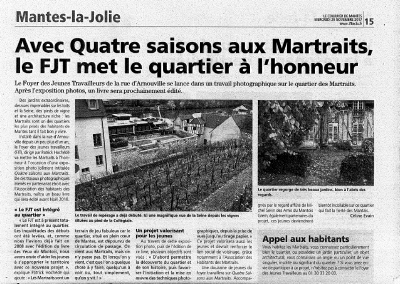 La courrier de Mantes, 2011