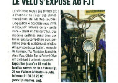 Le vélo au FJT